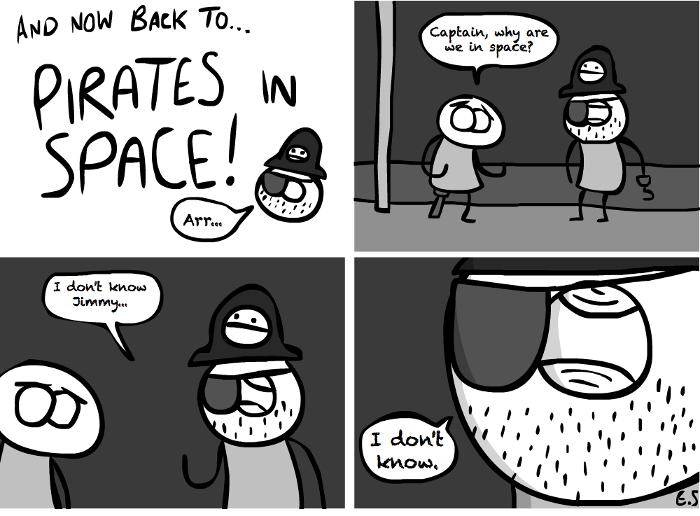 Pirates in Space